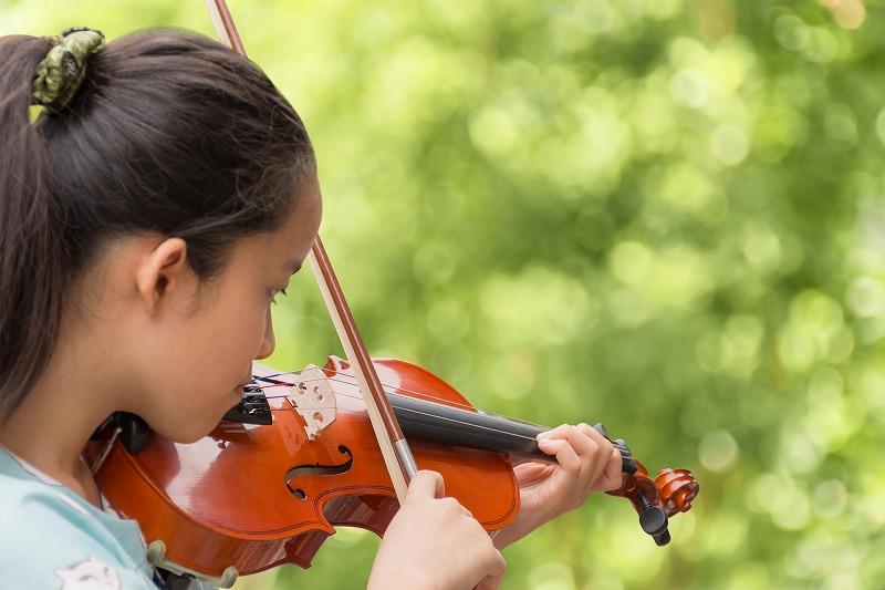写真:こどものバイオリン オリジナルコース