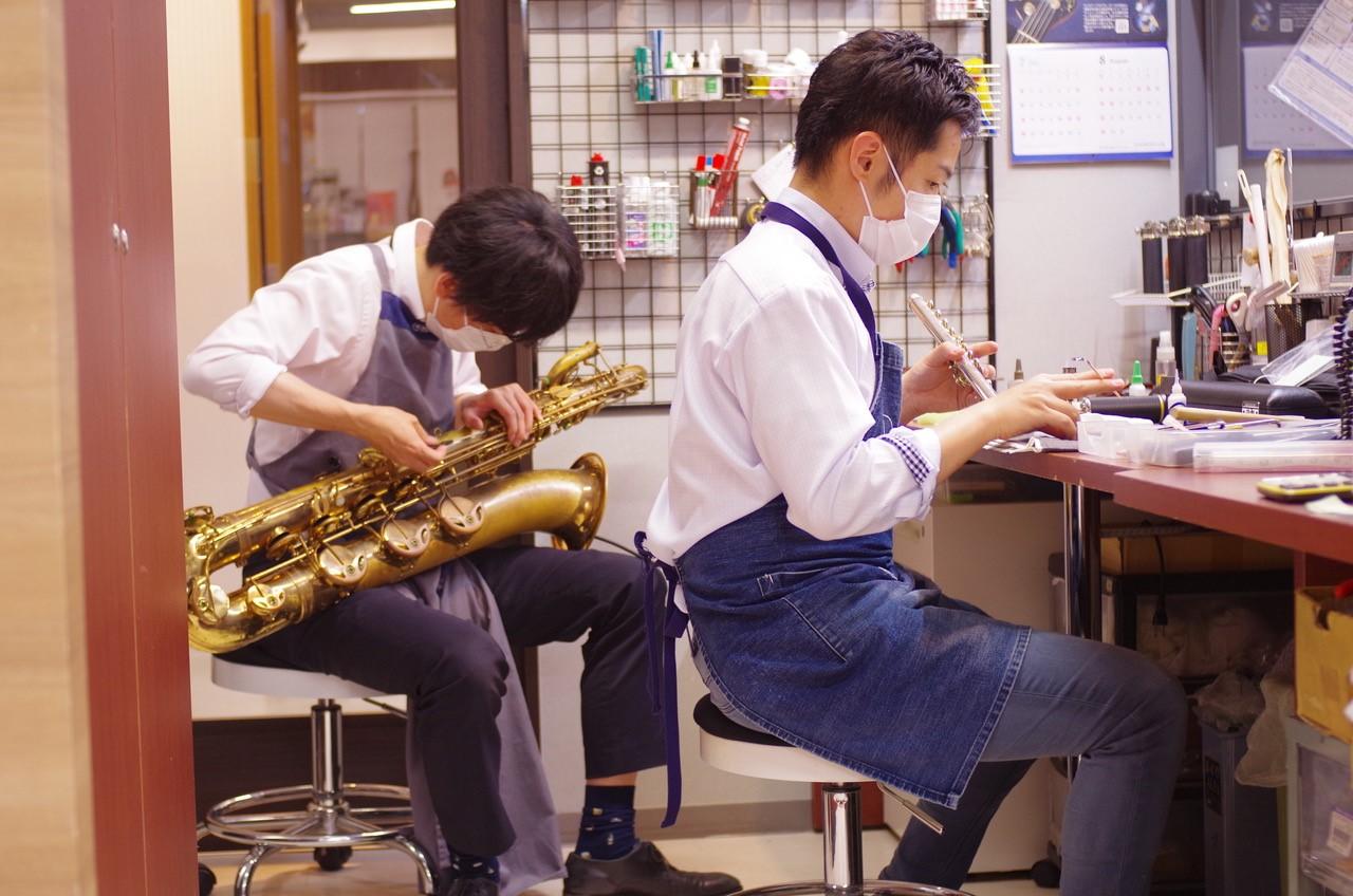 管楽器購入特典